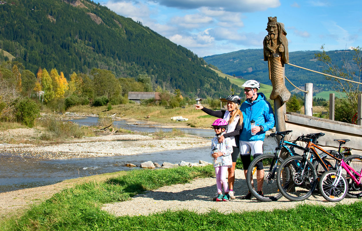 Radfahren Mountain Bike Lungau