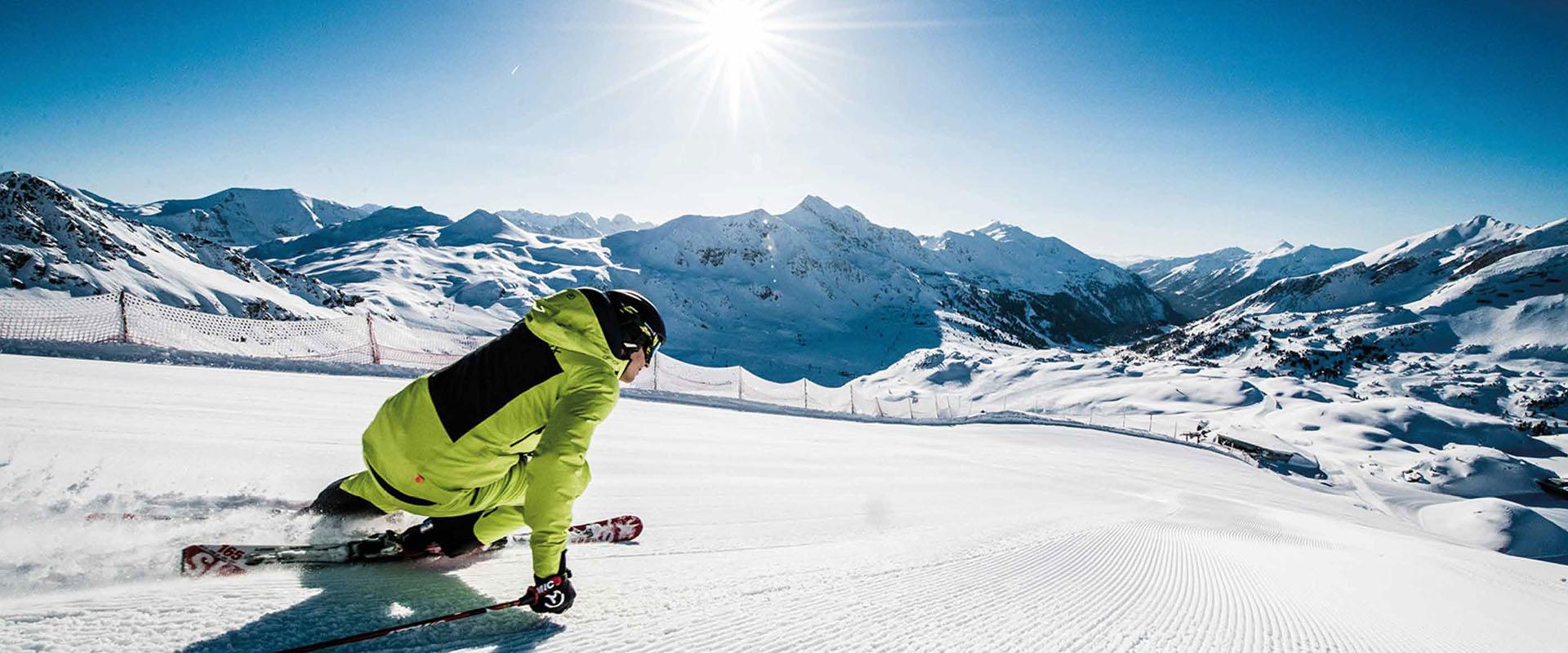 Skifahren Urlaub Mariapfarr Lungau