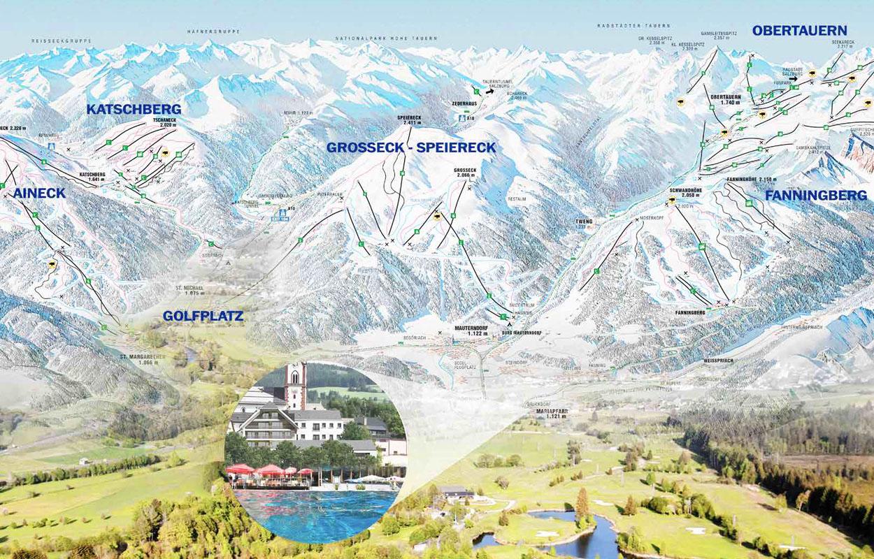 Skigebiete Mariapfarr Lungau