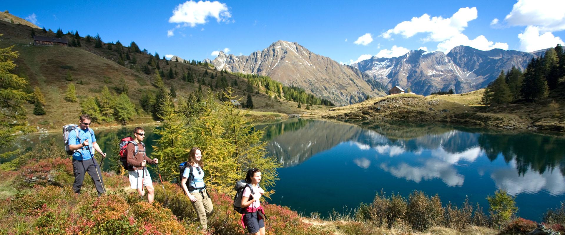 Sommerurlaub Wandern Lungau
